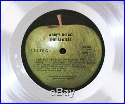 THE BEATLES ABBEY ROAD Platinum LP Record Award rare gold cd collectible gift