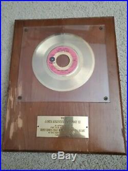 THE FORTUNES Here Comes Rainy Feeling Again Non RIAA GOLD RECORD AWARD RARE