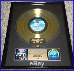THE JETS RIAA Certified Gold Record Award