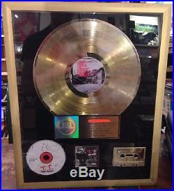 TI Trap Muzik Gold Sales Award RIAA T. I. Record album disc plaque frame