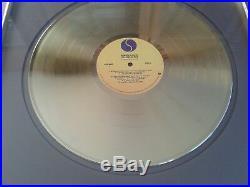 Talking Heads- CRIA (non RIAA) award golden record Album Remain in Light