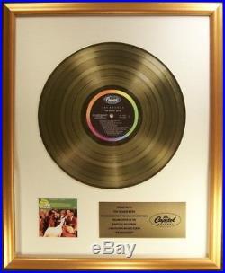 The Beach Boys Pet Sounds LP Gold Non RIAA Record Award Capitol Records