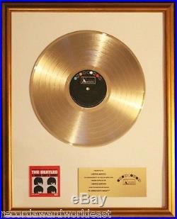 The Beatles A Hard Day's Night Soundtrack Gold Non RIAA Record Award UA