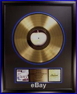 The Beatles Anthology 1 LP Gold Non RIAA Record Award   Gold