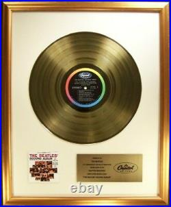 The Beatles Beatles' Second Album LP Gold Non RIAA Record Award Capitol Records