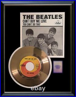 The Beatles Can't Buy Me Love Gold Metalized Record Rare 45 Pm Non Riaa Award