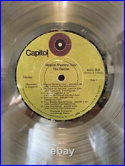 The Beatles Gold Record Award RIAA Magical Mystery Tour 500,000 Copies Sold