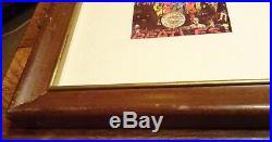 The Beatles Gold Record Riaa No Bpi Award Sgt Pepper Presentation Disc album lp