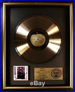 The Beatles Hey Jude LP Gold RIAA Record Award Records Apple Records