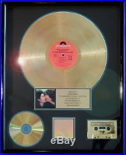 The Beatles John Lennon Milk And Honey Riaa Record Award Gold