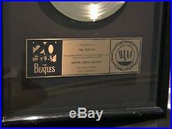 The Beatles Lady Madonna 20th Anniversary GOLD RIAA 7 Single Record Award