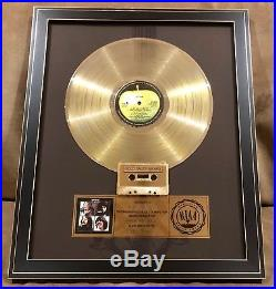 The Beatles Let it Be Certified RIAA Sales Award Framed Gold Record