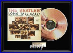 The Beatles Long Tall Sally Lp Gold Metalized Record Non Riaa Award Rare Album
