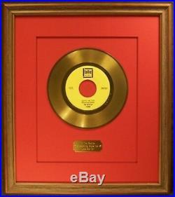 The Beatles Love Me Do 45 Gold Non RIAA Record Award Tollie Records