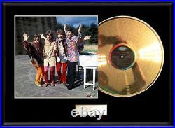 The Beatles Magical Mystery Tour Gold Vinyl Record Lp Album Non Riaa Award Rare