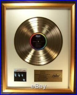 The Beatles Meet The Beatles! LP Gold Non RIAA Record Award Capitol Records
