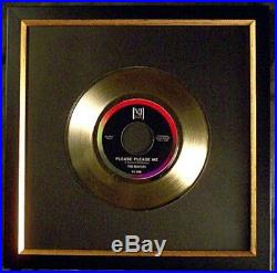 The Beatles Please Please Me 45 Gold Non RIAA Record Award Vee Jay Records