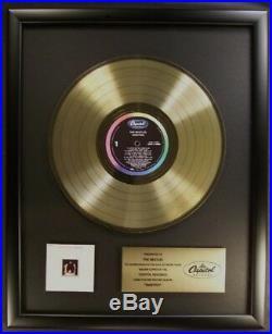 The Beatles Rarities LP Gold Non RIAA Record Award Capitol Records