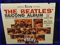 The Beatles Second Album SEALED USA 1965 RIAA 9 LP NO Gold Record Award