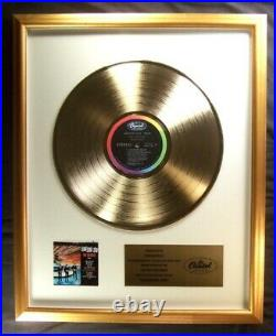 The Beatles Something New LP Gold Non RIAA Record Award Capitol Records