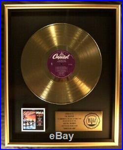 The Beatles Something New LP Gold RIAA Record Award Capitol Records