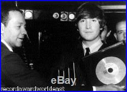 The Beatles Twist And & Shout Gold Non RIAA Record Award Tollie Records