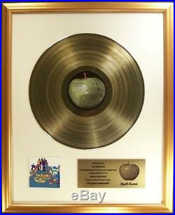 The Beatles Yellow Submarine LP Gold Non RIAA Record Award Apple Records