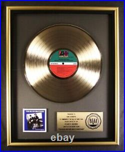 The Blues Brothers Movie Soundtrack LP Gold RIAA Record Award To Dan Aykroyd