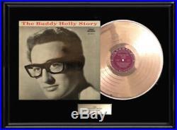 The Buddy Holly Story Album Lp Gold Metalized Record Rare Non Riaa Award