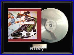 The Cars Heartbeat City White Gold Silver Platinum Tone Record Lp Non Riaa Award