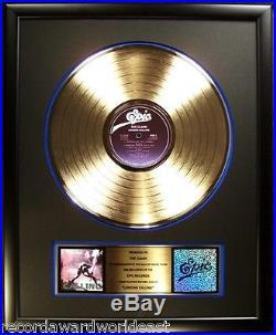 The Clash London Calling LP Gold Non RIAA Record Award Epic Records