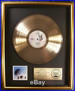 The Doors 13 LP Gold RIAA Record Award Elektra Records To Elektra Records
