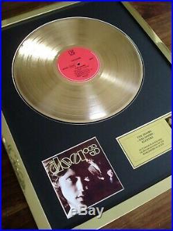 The Doors Debut Lp Gold Disc Record Award Album