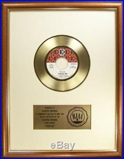 The Doors Touch Me 45 Gold RIAA Record Award To Elektra Records