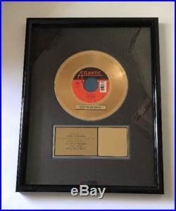 The Escape Club Wild Wild West Single Gold Record Sales Award RIAA Certified