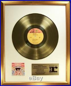 The Jimi Hendrix Experience Axis Bold As Love LP Gold Non RIAA Record Award