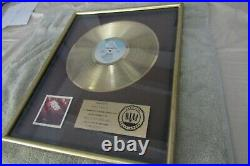 The Kinks RIAA Certified Gold Record Sales award for The Album Low Budget 1979 A