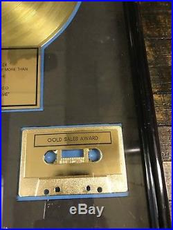 The Mavericks'What A Crying Shame' Gold Record Sales Award RIAA Certified