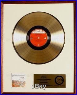 The Monkees Pisces Aquarius Capricorn & Jones Ltd. LP Gold Non RIAA Record Award