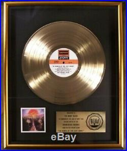The Moody Blues In Search Of The Lost Chord LP Gold RIAA Record Award