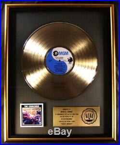 The Osmonds Crazy Horses LP Gold RIAA Record Award MGM Records To Merrill