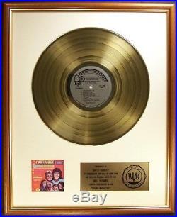The Partridge Family Sound Magazine LP Gold RIAA Record Award Bell Records