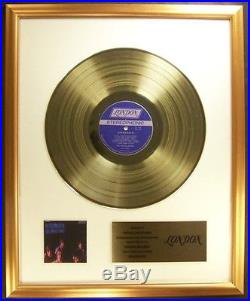 The Rolling Stones Aftermath LP Gold Non RIAA Record Award To Rolling Stones