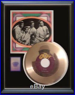 The Temptations My Girl 45 RPM Gold Metalized Vinyl Record Rare Non Riaa Award