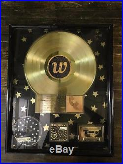 The Wallflowers'Bringing Down the Horse' Gold Record Sales Award RIAA Certified