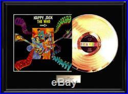 The Who Happy Jack Album Lp Gold Metalized Record Album Vinyl Non Riaa Award