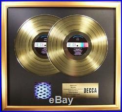 The Who Tommy Soundtrack 2 LP Gold Non RIAA Record Award Decca Records