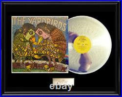 The Yardbirds Live Album Rare White Gold Silver Metalized Record Non Riaa Award