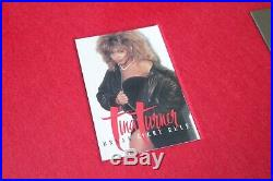 Tina Turner Break Every Rule BPI Gold Record Award Ultra Rare