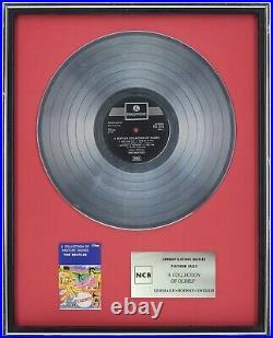 To The Beatles Gold Platinum Record Sales Award Disc presentation No Bpi No Riaa